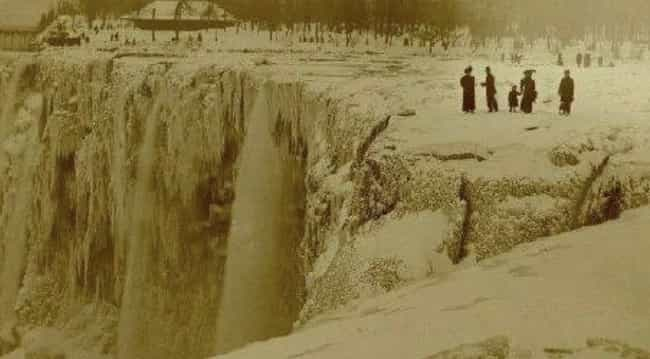 Niagara Falls is listed (or ranked) 2 on the list 17 Photos Of Historical Landmarks Like You Probably Haven't Seen Them Before