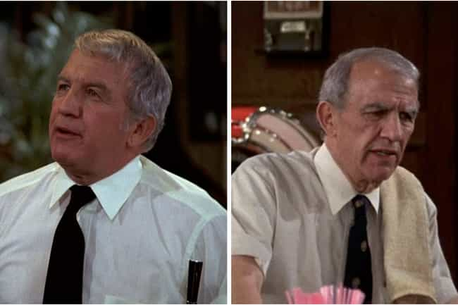 Nicholas Colasanto is listed (or ranked) 3 on the list How the Cast of Cheers Aged from the First to Last Season