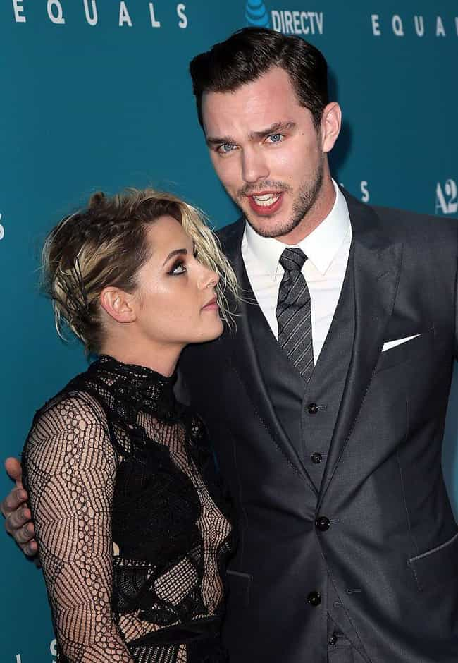 Nicholas Hoult is listed (or ranked) 4 on the list Kristen Stewart Loves and Hookups