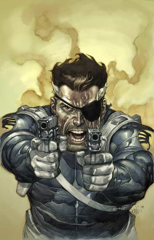 Nick Fury is listed (or ranked) 12 on the list The Top 15 Marvel Heroes