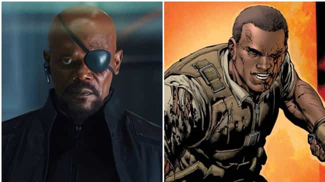 Nick Fury is listed (or ranked) 1 on the list Now That Half The Marvel Universe Has Been Snapped, These Heroes Could Become The New Avengers