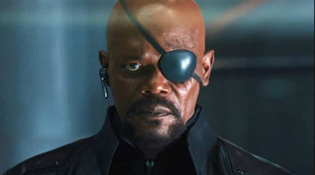 Nick Fury is listed (or ranked) 4 on the list The Best Fictional Spies