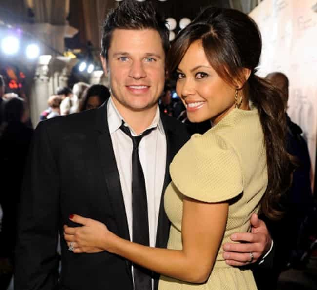 Nick Lachey is listed (or ranked) 1 on the list Vanessa Minnillo's Loves & Hookups