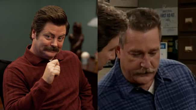 Nick Offerman is listed (or ranked) 3 on the list How 'Home Improvement' Would Be Cast If It Aired Today