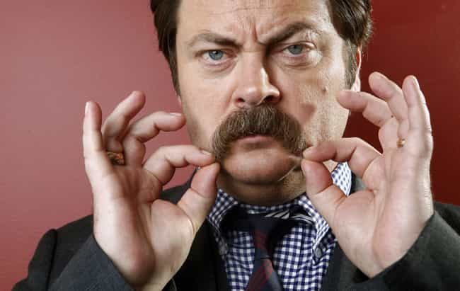 Nick Offerman is listed (or ranked) 2 on the list Who Is America's Dad in 2019?