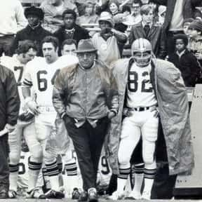 Nick Skorich is listed (or ranked) 13 on the list The Best Cleveland Browns Coaches of All Time