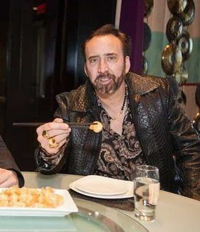 Nicolas Cage is listed (or ranked) 3 on the list 21 Celebrities Who Are Picky Eaters