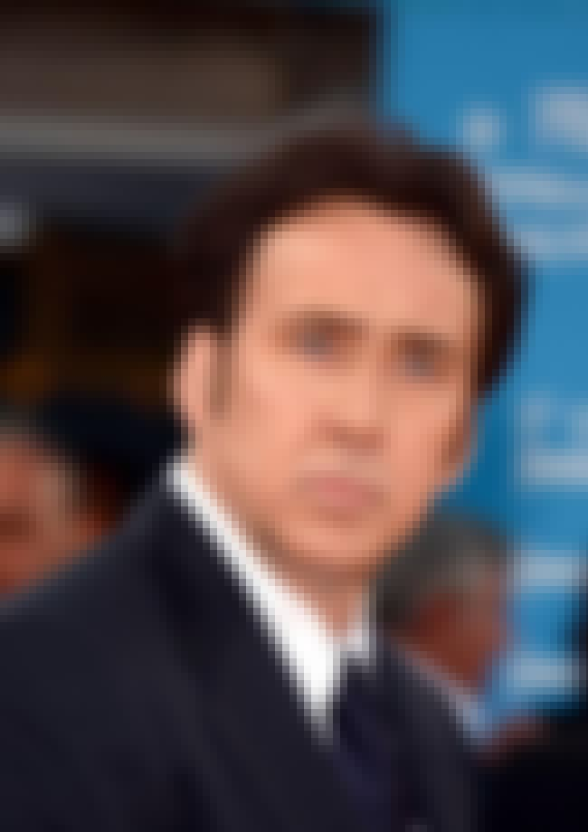 Nicolas Cage is listed (or ranked) 5 on the list Celebrities Who Wear Wigs