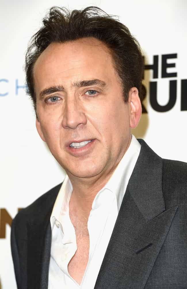 Nicolas Cage is listed (or ranked) 1 on the list Famous Male Film Actors