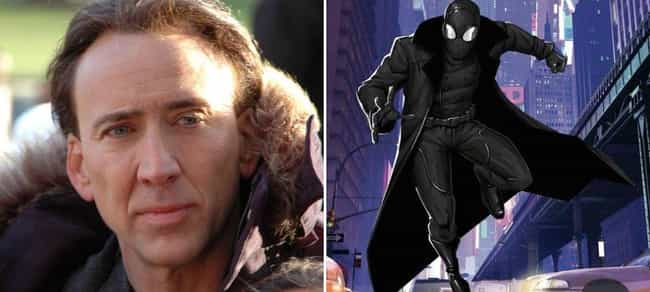 Nicolas Cage is listed (or ranked) 2 on the list Famous Actors You Didn't Realize Have Voiced Superheroes And Villains