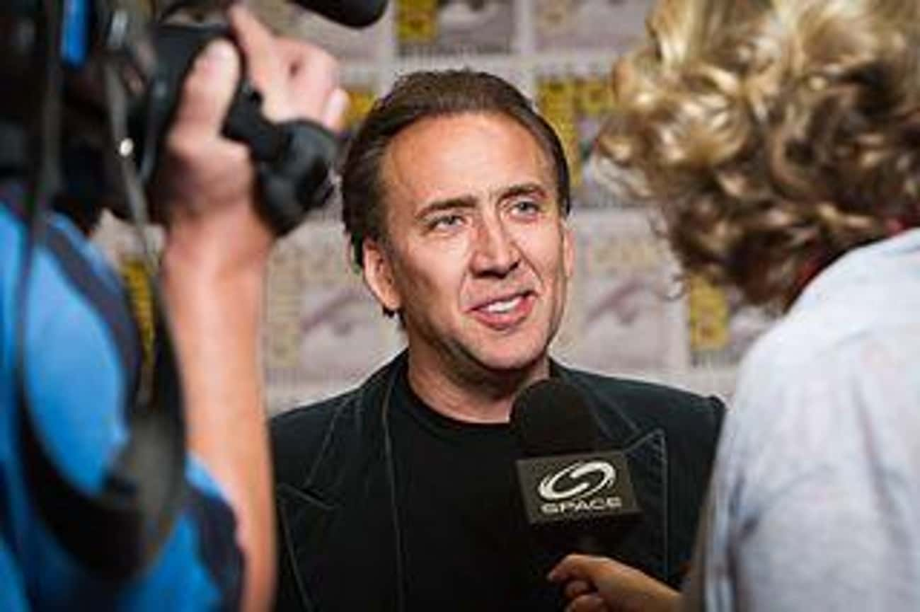 Nicolas Cage is listed (or ranked) 2 on the list 18 Crazy Things Celebrities Have Done While High