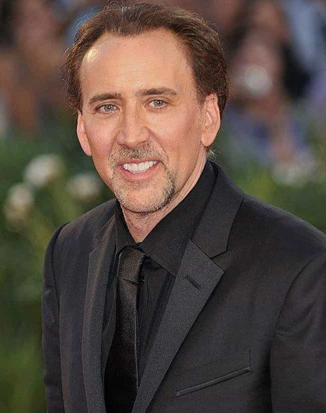 Nicolas Cage is listed (or ranked) 1 on the list 7 Famous White Men Who Married Asian Women