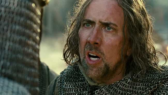 Nicolas Cage is listed (or ranked) 2 on the list The 13 Worst British Accents By Non-British Actors