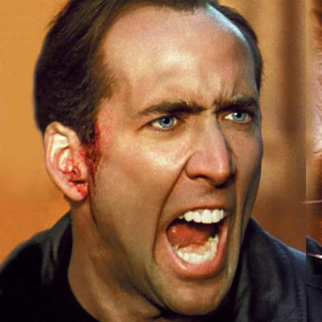 Nicolas Cage is listed (or ranked) 2 on the list 14 Famous People with Vertigo