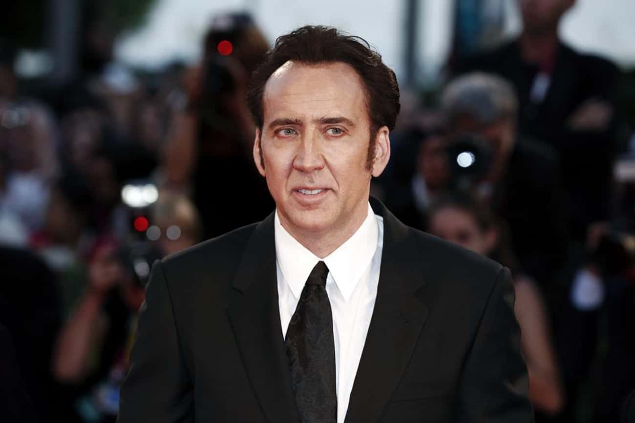 Nicolas Cage is listed (or ranked) 2 on the list Famous INFPs