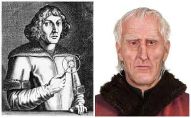 Nicolaus Copernicus (February  is listed (or ranked) 1 on the list Here's What Famous Historical Figures Really Looked Like