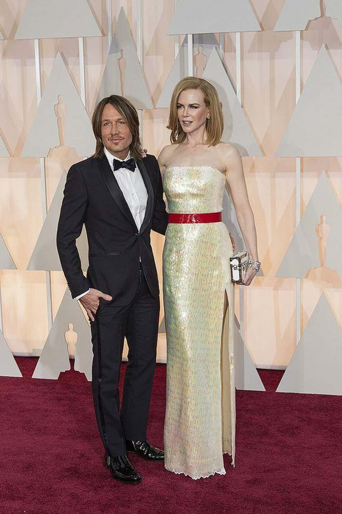 Nicole Kidman and Keith Urban is listed (or ranked) 4 on the list Celebrity Couples Where the Woman Is Taller
