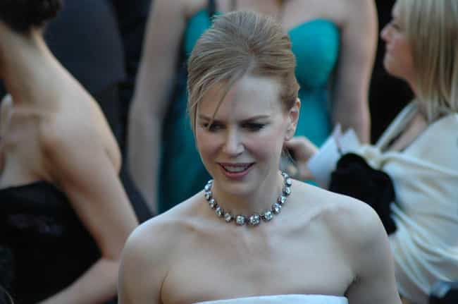 Nicole Kidman is listed (or ranked) 3 on the list Famous People Who Stutter