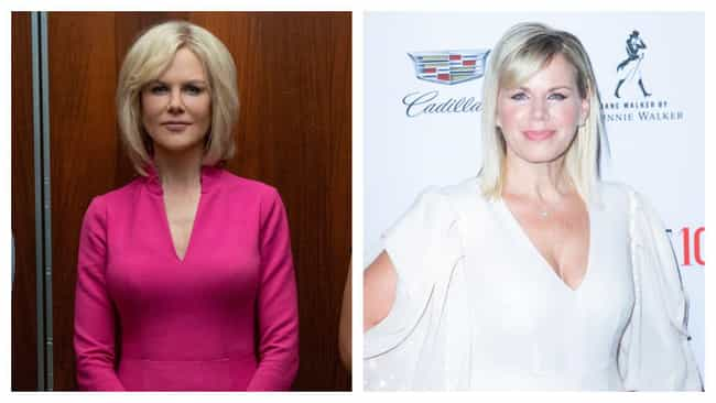 Nicole Kidman is listed (or ranked) 3 on the list 'Bombshell' Actors Vs. The Real-Life People They're Playing