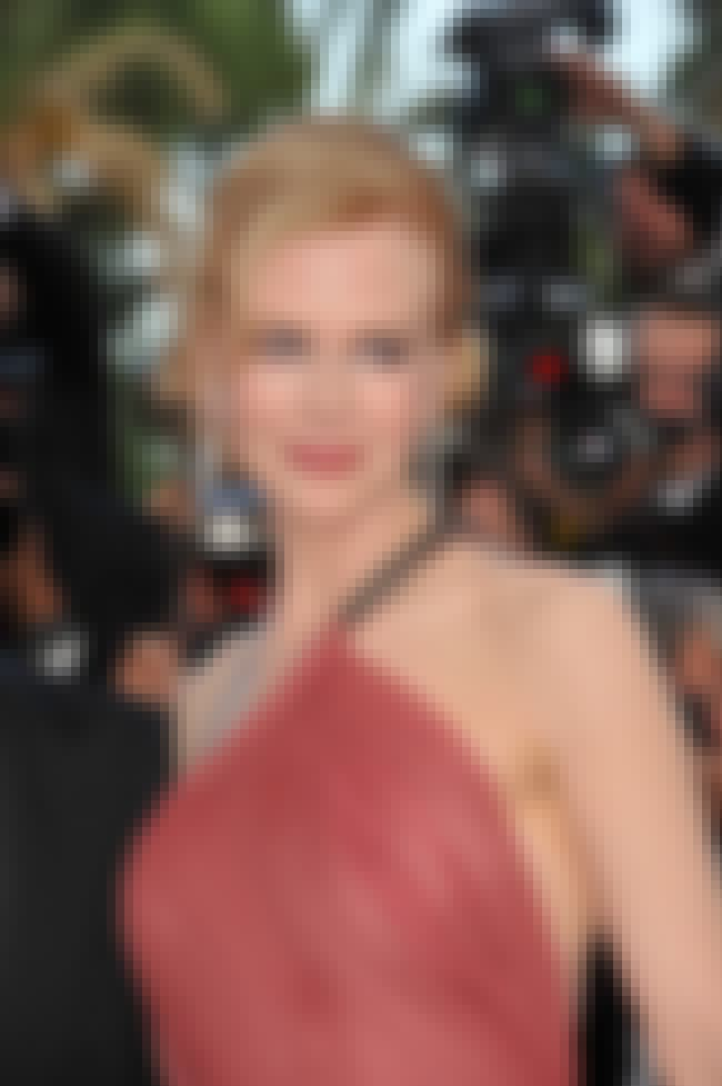 Nicole Kidman is listed (or ranked) 5 on the list Left Handed Celebrities