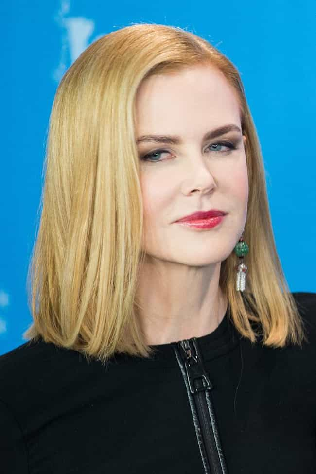 Nicole Kidman is listed (or ranked) 1 on the list Famous INFJs