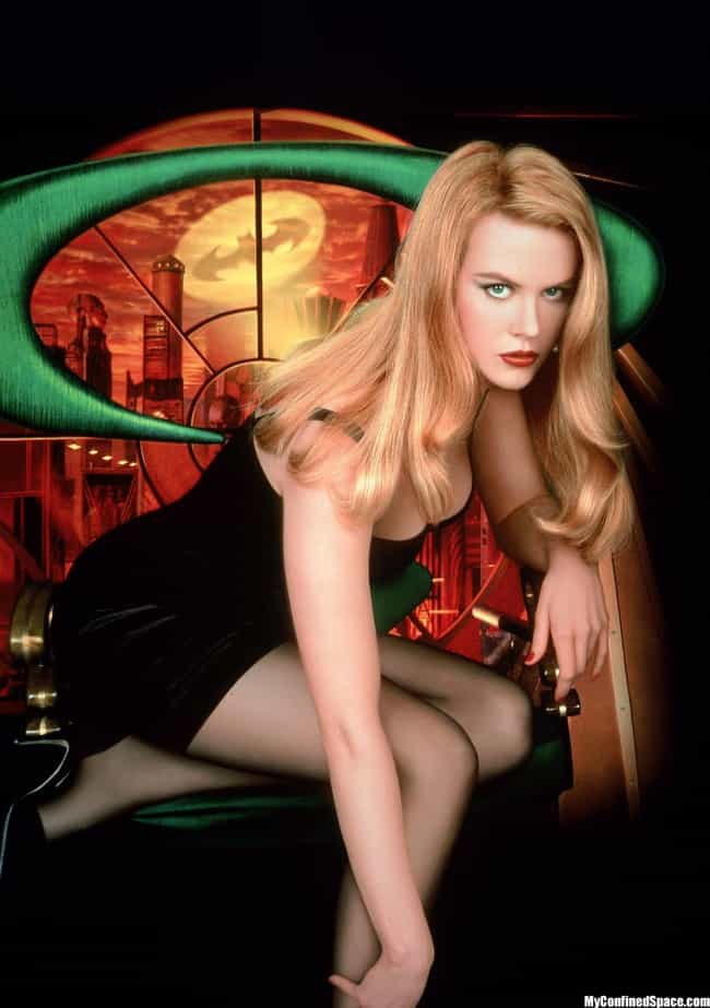 Nicole Kidman is listed (or ranked) 4 on the list The Hottest Women from the Batman Movies