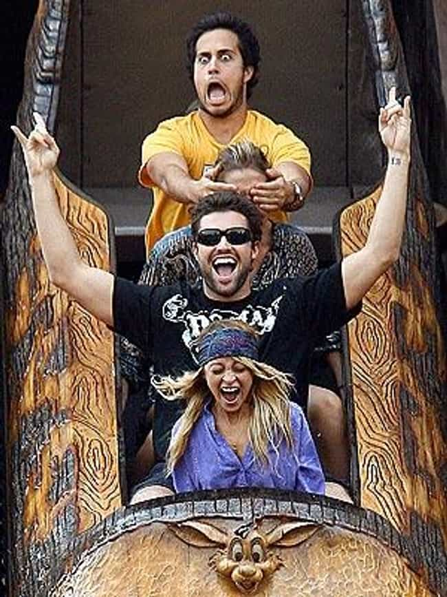 Nicole Richie is listed (or ranked) 1 on the list 8 Celebrities Enjoying Splash Mountain
