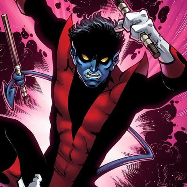 Nightcrawler is listed (or ranked) 4 on the list The Best Comic Book Characters Who Have Yellow Eyes
