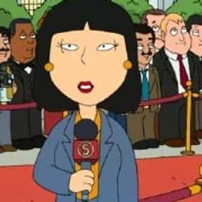 Tricia Takanawa is listed (or ranked) 25 on the list The Best Family Guy Characters of All Time