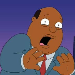 Ollie Williams is listed (or ranked) 17 on the list The Best Family Guy Characters of All Time