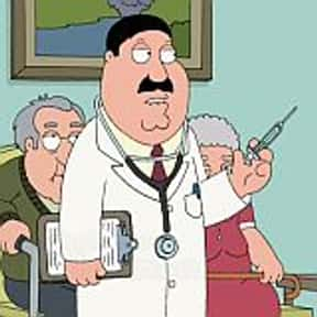 Dr. Elmer Hartman is listed (or ranked) 11 on the list The Best Family Guy Characters of All Time