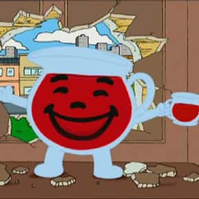 Kool-aid Guy is listed (or ranked) 5 on the list The Most Memorable Advertising Mascots of All Time