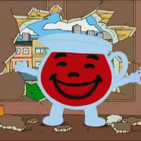 Kool-Aid Man is listed (or ranked) 22 on the list The Best Family Guy Characters of All Time