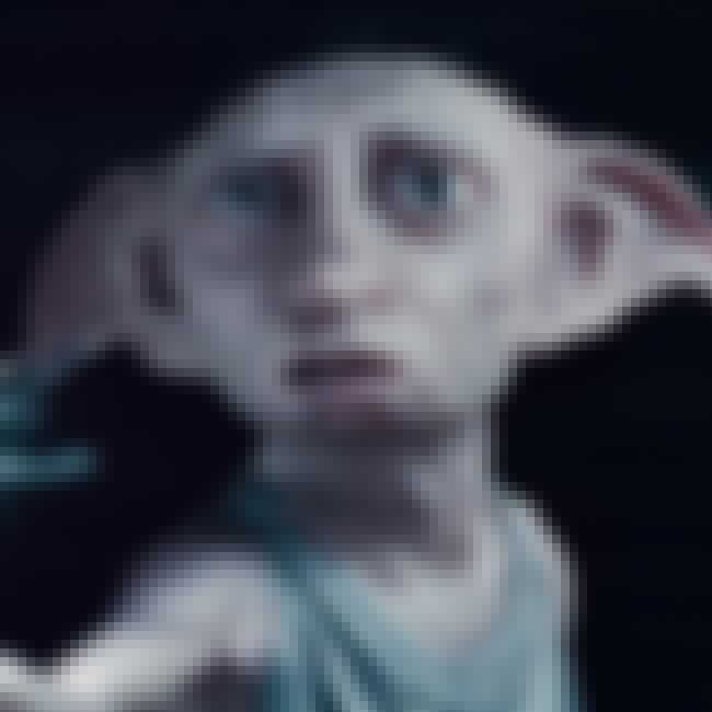 Dobby the House Elf is listed (or ranked) 3 on the list The Saddest Deaths in Kids Movies