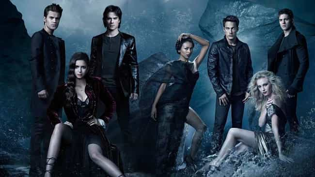 The Vampire Diaries is listed (or ranked) 1 on the list TV Shows with the Hottest Casts