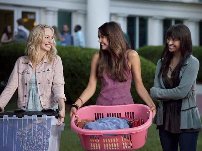 The Vampire Diaries is listed (or ranked) 8 on the list 12 Great TV Shows That Fell Victim To The College Years
