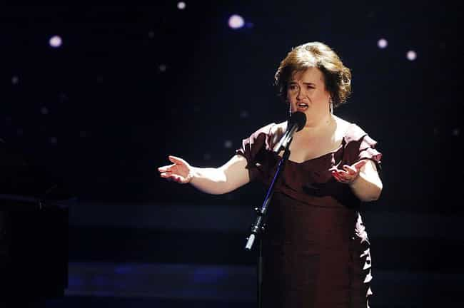 Susan Boyle is listed (or ranked) 4 on the list Celebrities Who (Probably) Have Asperger's Syndrome