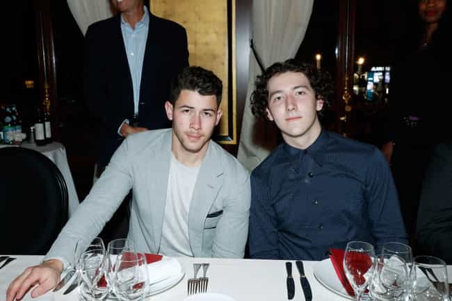 Frankie Jonas is listed (or ranked) 1 on the list 13 Unknown Siblings From Extremely Famous Families