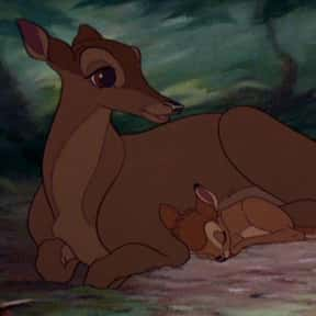 Bambi's Mother is listed (or ranked) 8 on the list The Most Inspirational Movie Mothers