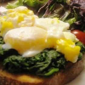 Eggs florentine
