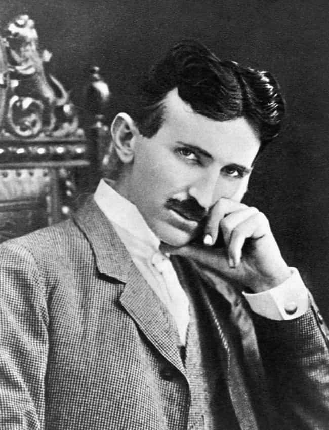 Nikola Tesla is listed (or ranked) 3 on the list The Real Life Inspirations for Tony Stark