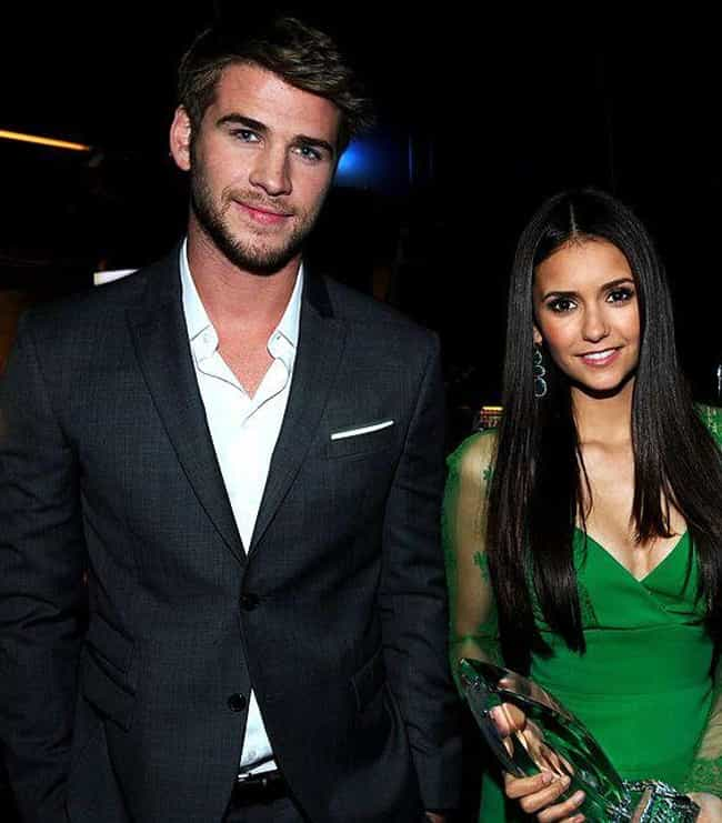 Nina Dobrev is listed (or ranked) 3 on the list Liam Hemsworth Loves and Hookups