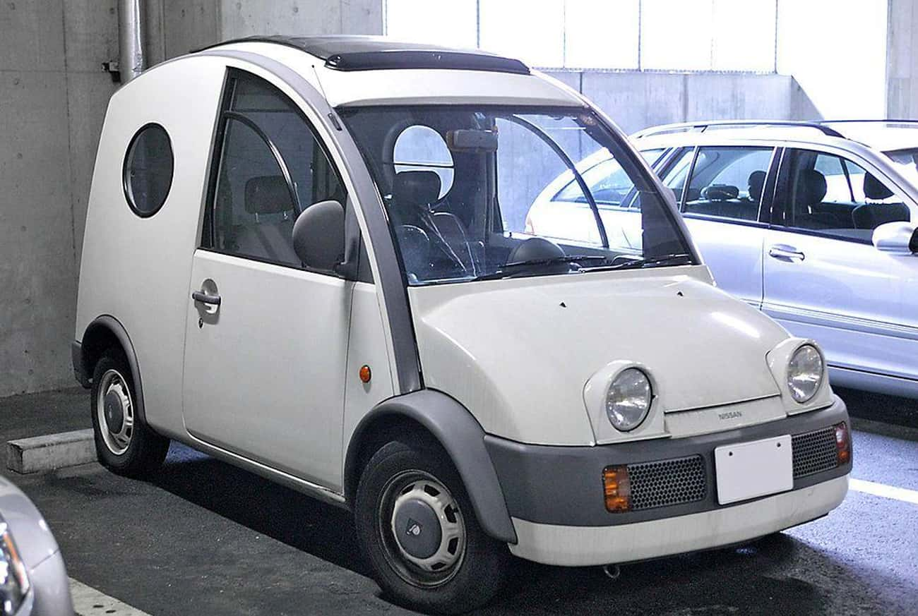 Nissan S-Cargo is listed (or ranked) 2 on the list The Ugliest Cars In The World