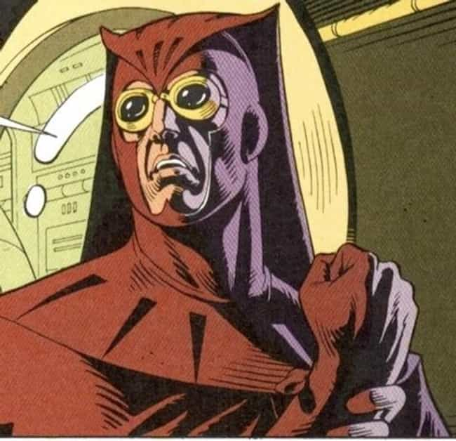 Nite Owl is listed (or ranked) 2 on the list The Most Useless Super Powers in Comics