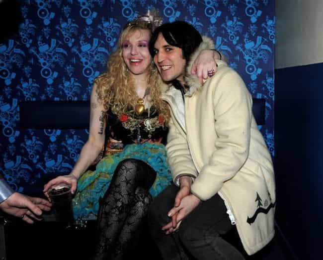 Noel Fielding is listed (or ranked) 2 on the list Courtney Love's Loves &