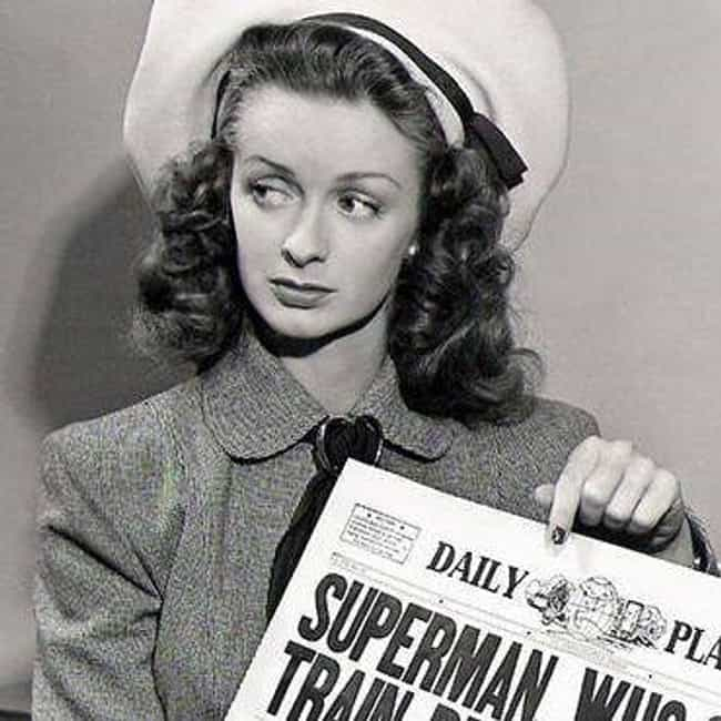 Noel Neill is listed (or ranked) 4 on the list The Best Actresses Who Played Lois Lane