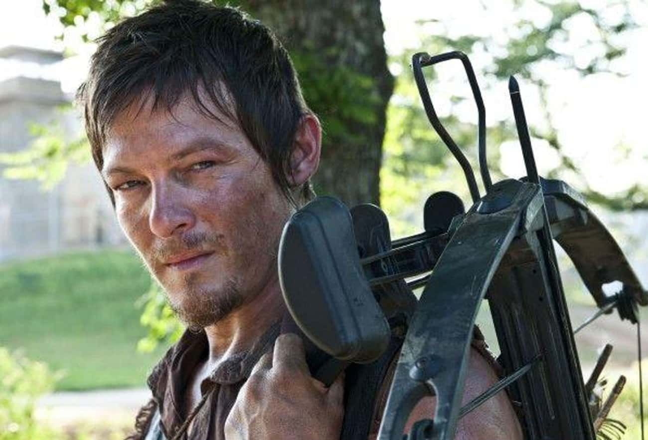 Norman Reedus - Daryl Dixon is listed (or ranked) 1 on the list Actors Who Are Only Hot Because Of The Characters They Play