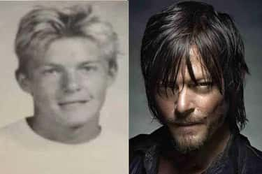 Norman Reedus (Daryl) is listed (or ranked) 1 on the list You Need to See These Yearbook Photos of the Cast of The Walking Dead