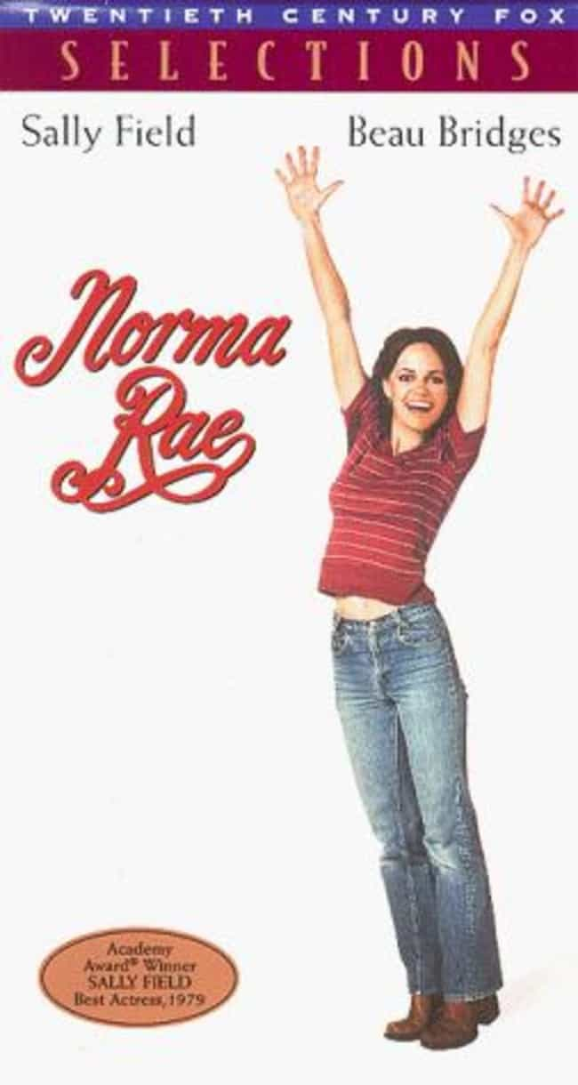 Norma Rae is listed (or ranked) 2 on the list VHS Covers That Sold A Totally Different Movie