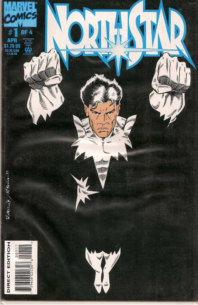 Northstar is listed (or ranked) 4 on the list 18 Comic Book Characters From Canada
